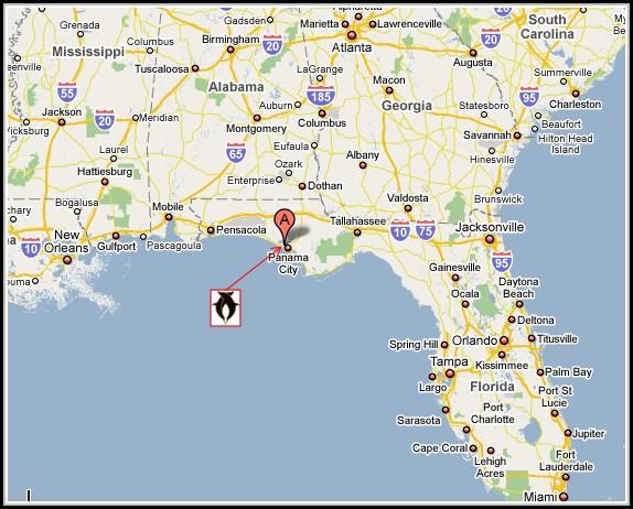 Map Of Panama City Florida Map Resume Examples Xm1eyoj1rl
