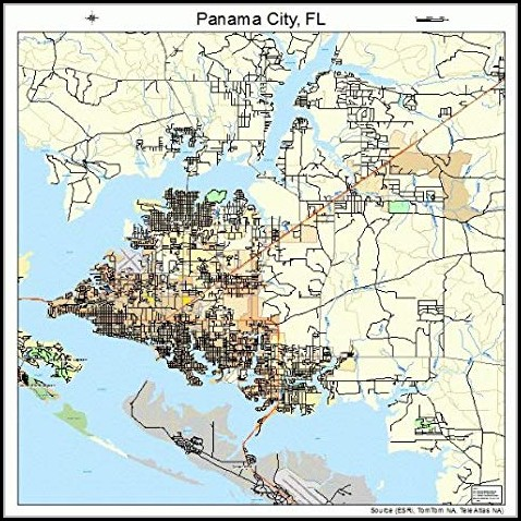 Map Of Panama City Fl Map Resume Examples Or852bw1wz