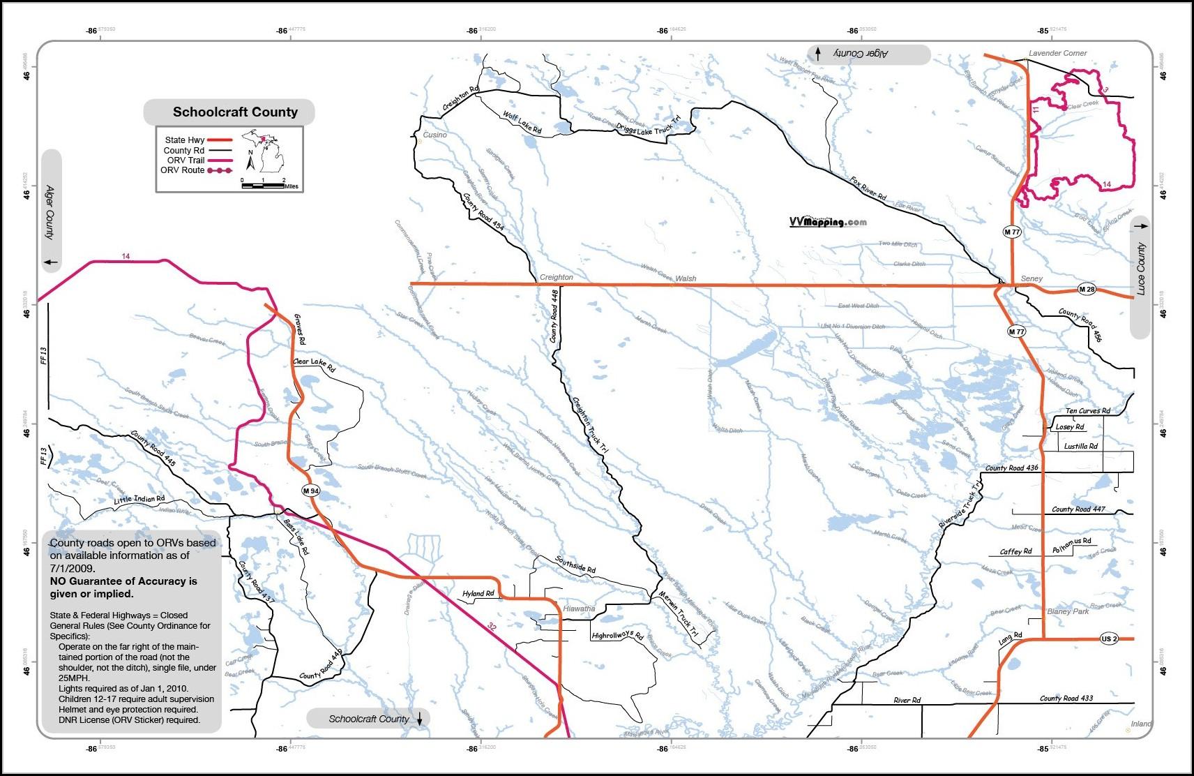 Michigan Snowmobile Trail Maps Gps Map Resume Examples Pv8xg7y3jq