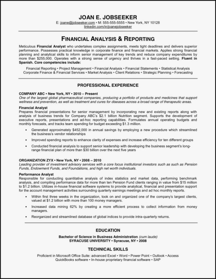 Most Effective Resume Templates