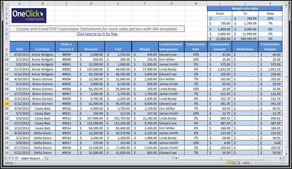 Payroll Template Excel Free Philippines