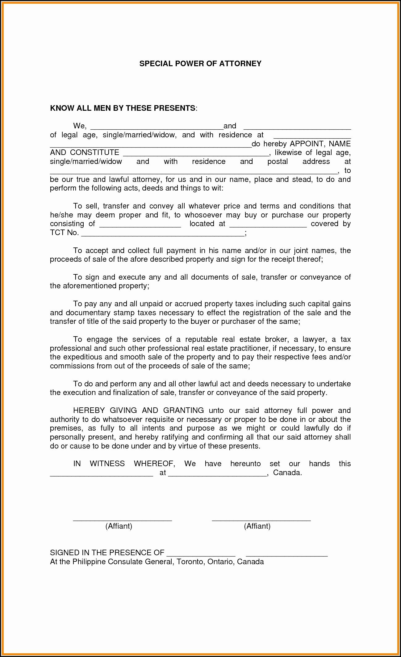 Power Of Attorney Form Idaho Dmv