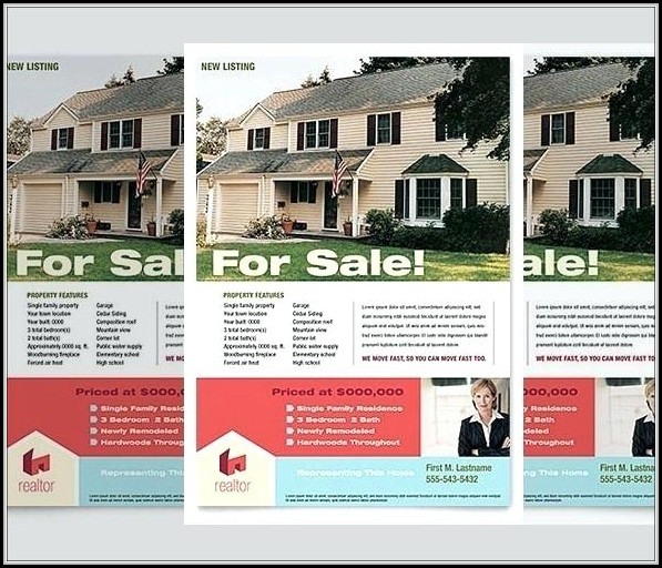 Real Estate Newspaper Ad Templates
