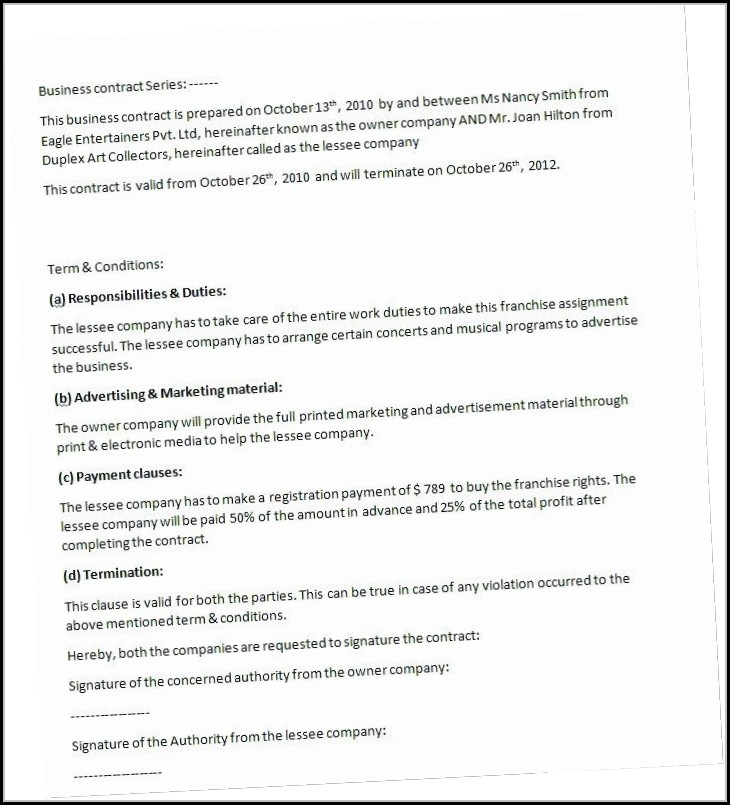 residential cleaning contract template template 2 resume