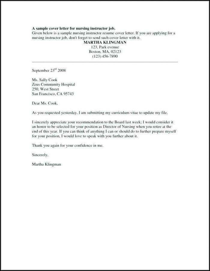 Sample Resume For Lvn Position