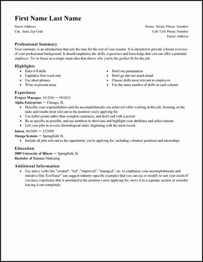 my resume wizard
