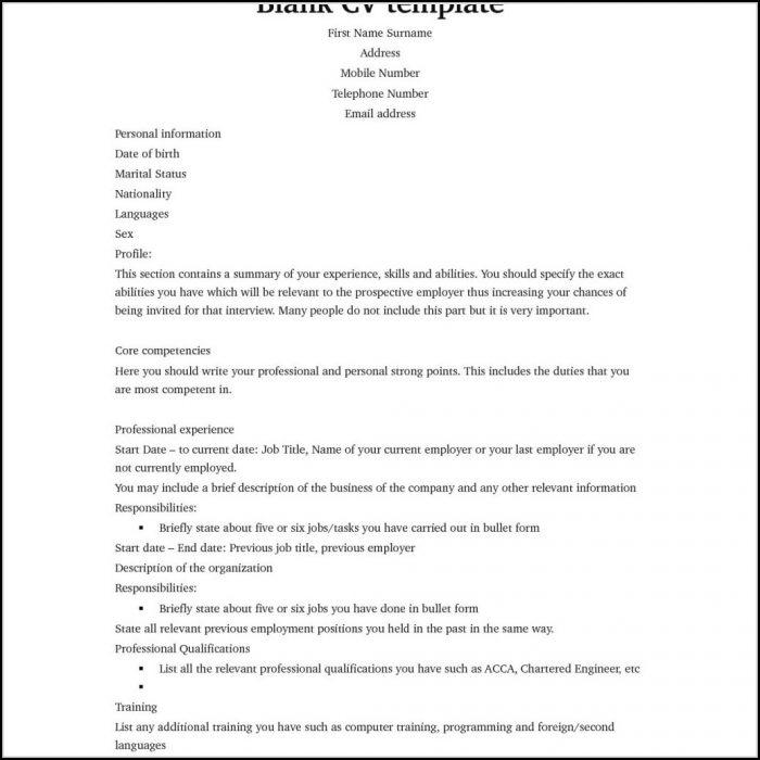 Totally Free Resume Builder