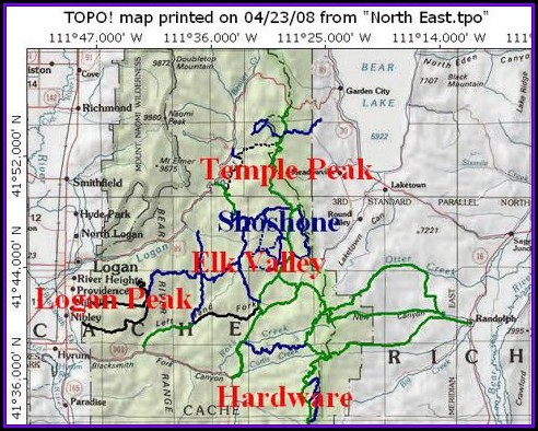 Atv Trail Maps Utah