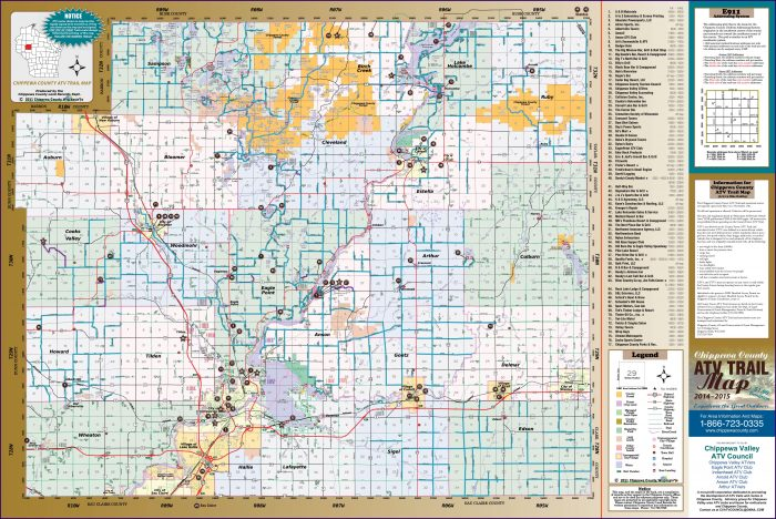 Atv Trail Maps Wisconsin