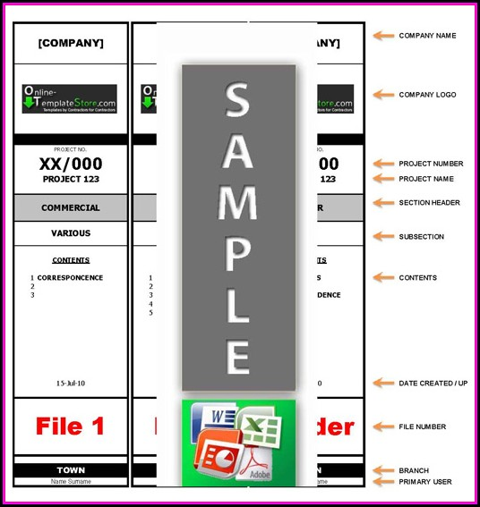 Avery Filing Labels Template 5066