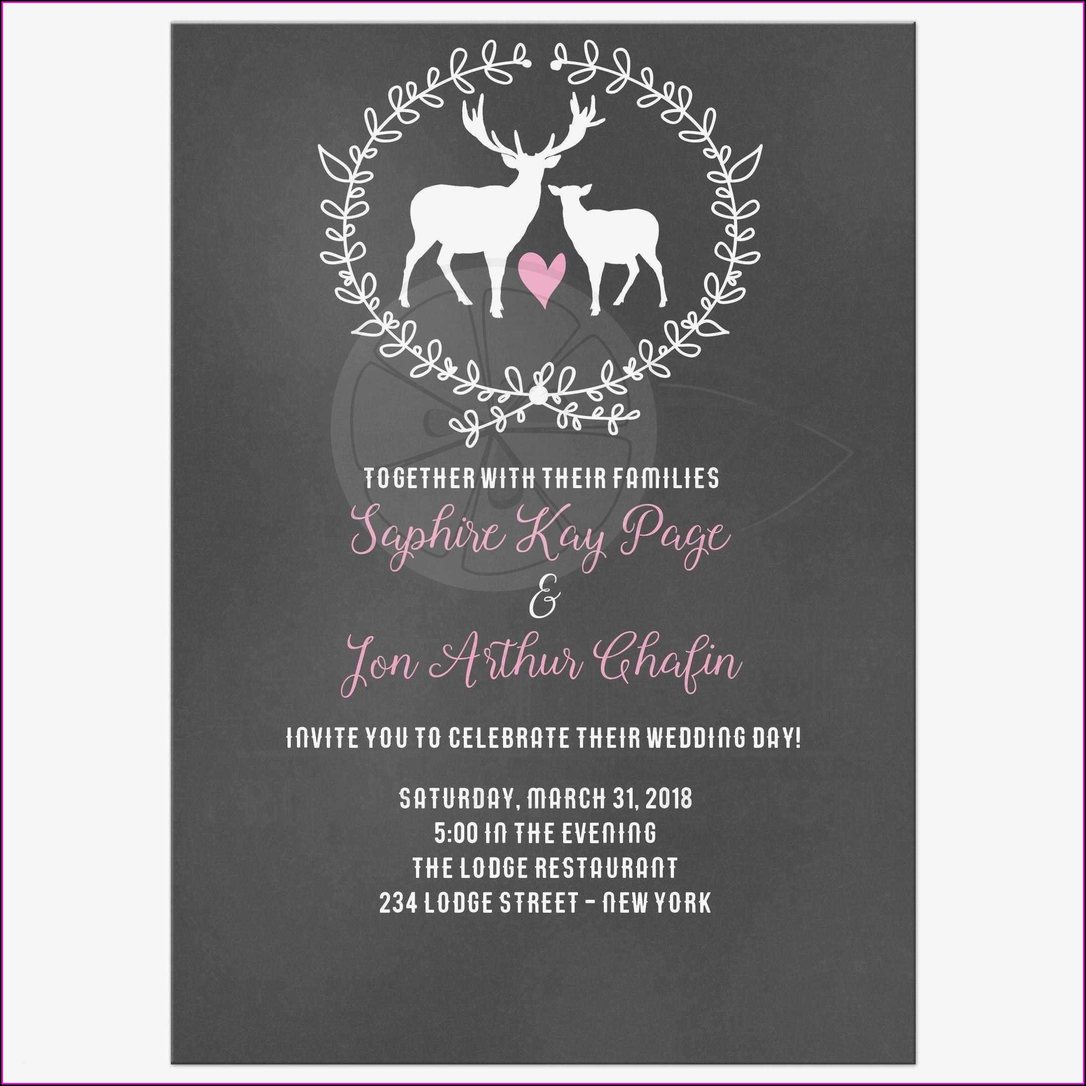 Black And White Party Invitation Templates Free Download Template