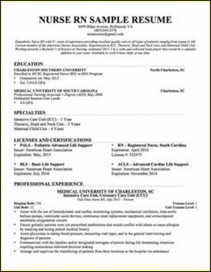 Nursing Resume Templates 2018 Resume Resume Examples Lv8nwbn10o