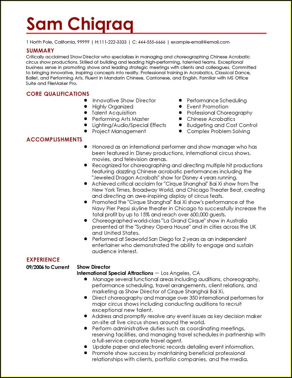 Completely Free Resume Builder And Printer