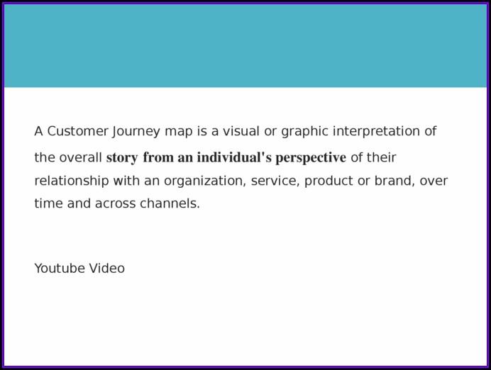 Customer Journey Map Pptx
