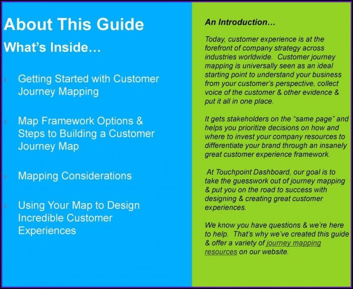 Customer Journey Mapping Guide Pdf