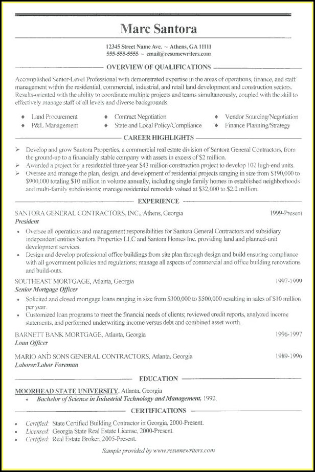 Download Free Resume Builder
