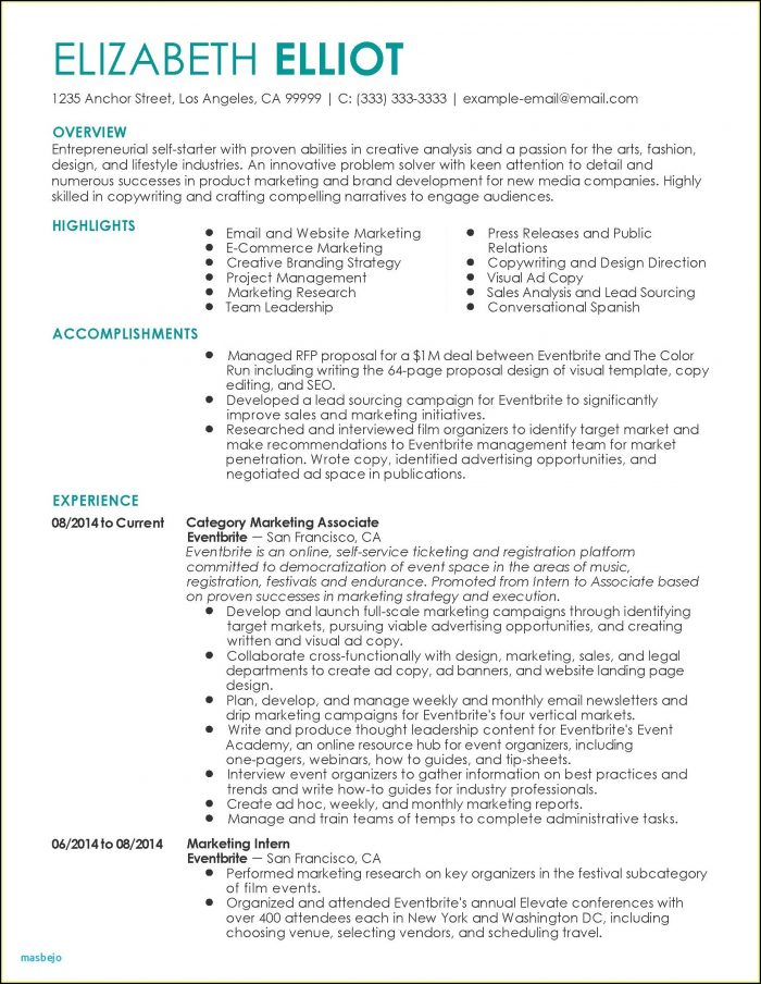Executive Resumes Examples