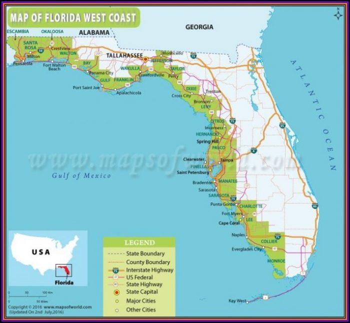 Florida Saltwater Fishing Maps