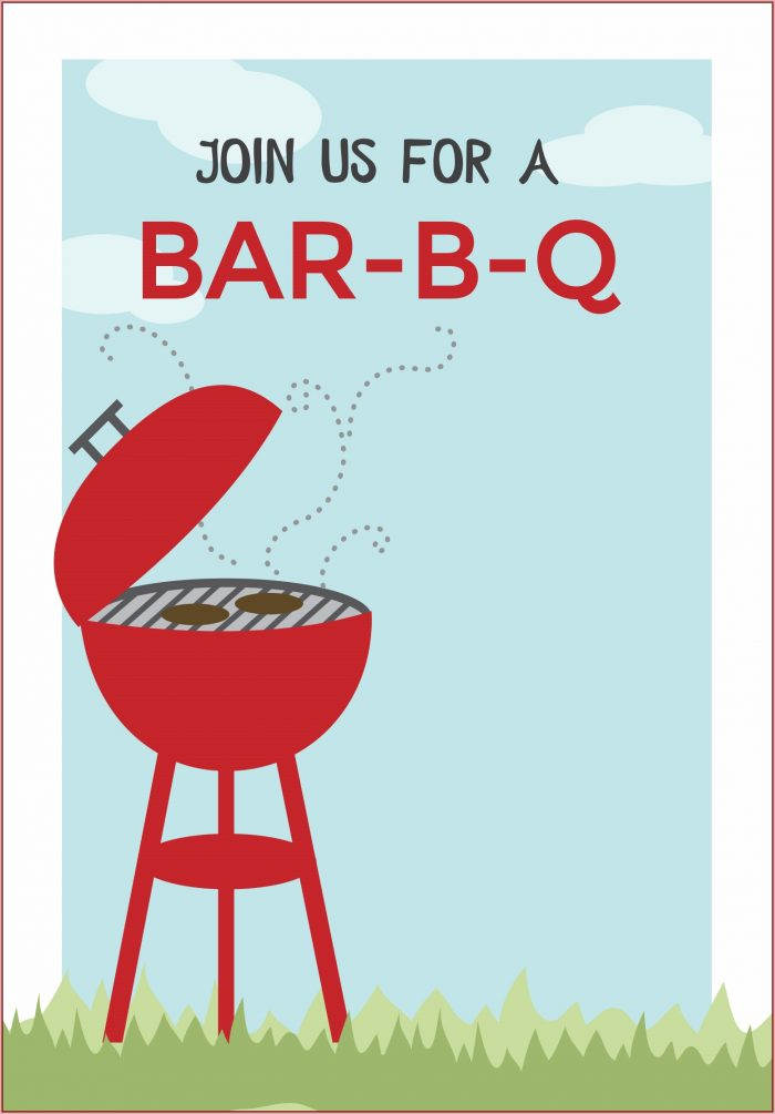 Free Bbq Invitation Template