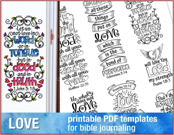 Free Bible Journaling Templates Pdf