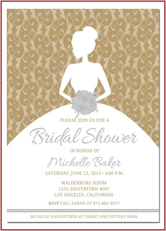 Free Bridal Shower Invitation Templates Downloads