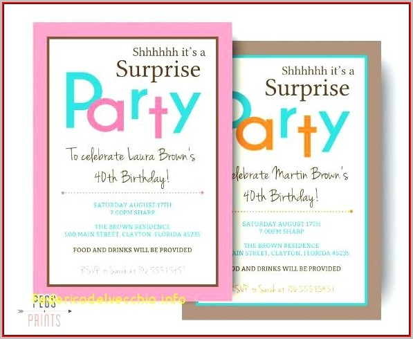 Free Farewell Invitation Template Word