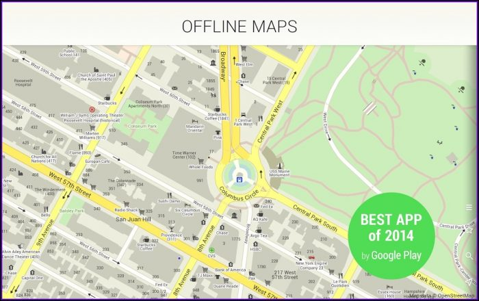 Free Map Routing App