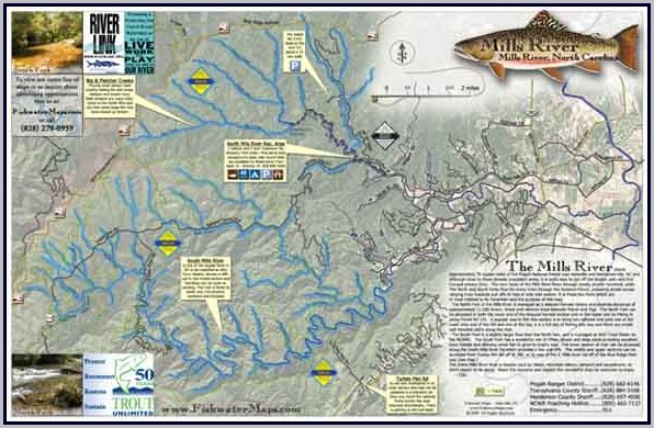 Nc Trout Fishing Maps