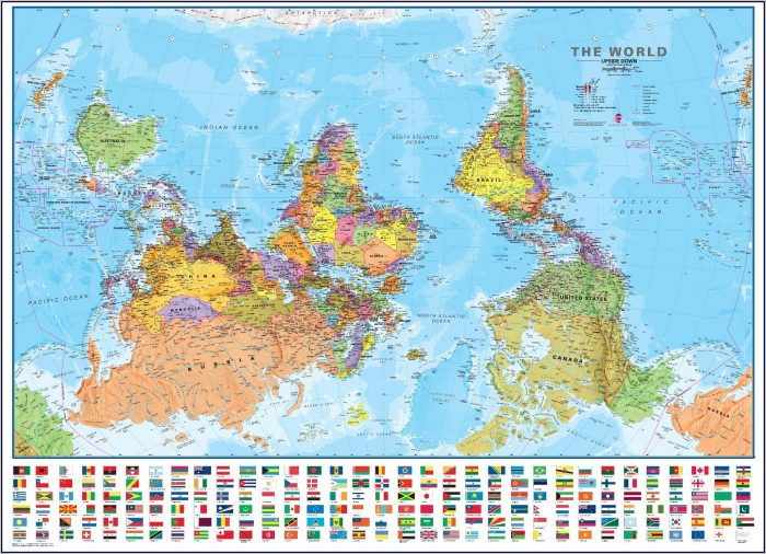 Flipped World Map.World Map Flipped Upside Down Map Resume Examples Jl10mk0k2b