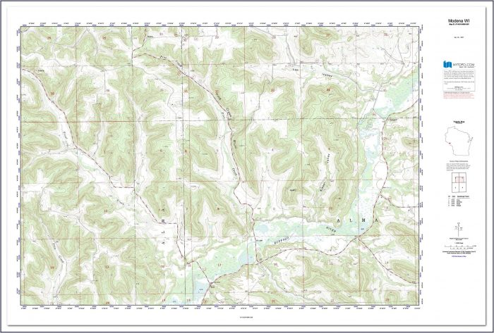 Topo Maps For Sale