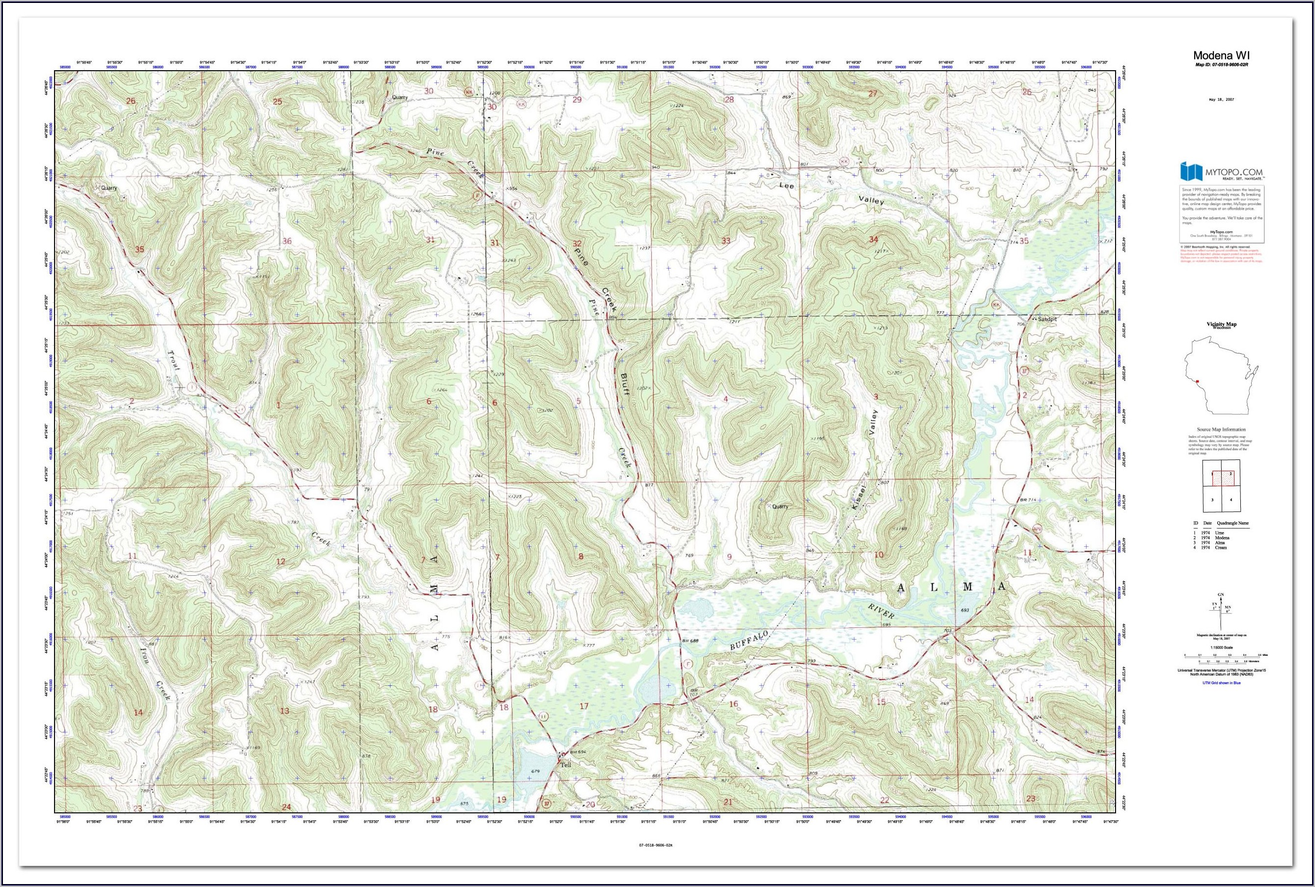 Topo Maps For Sale - Map : Resume Examples #q78Q2qN1g9