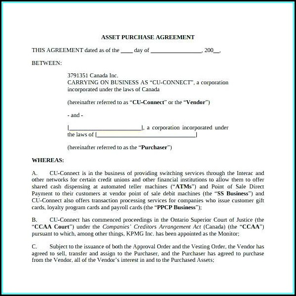 California Residential Purchase Agreement Blank Form Form Resume