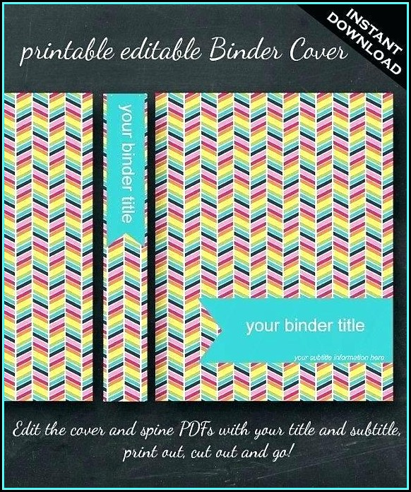 Avery Binder Templates Spine 3 Inch