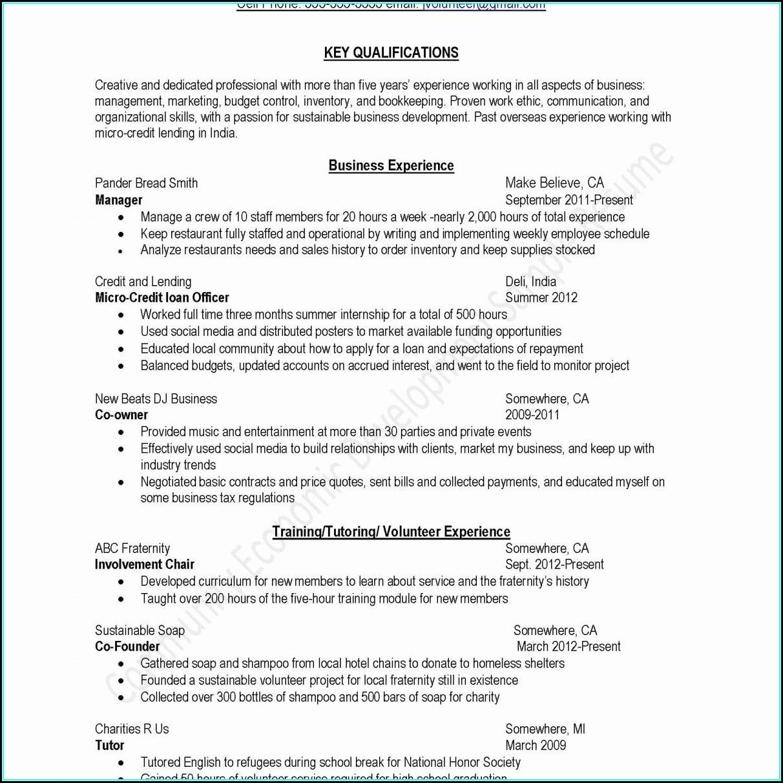 Beautiful Resume Templates Free Word