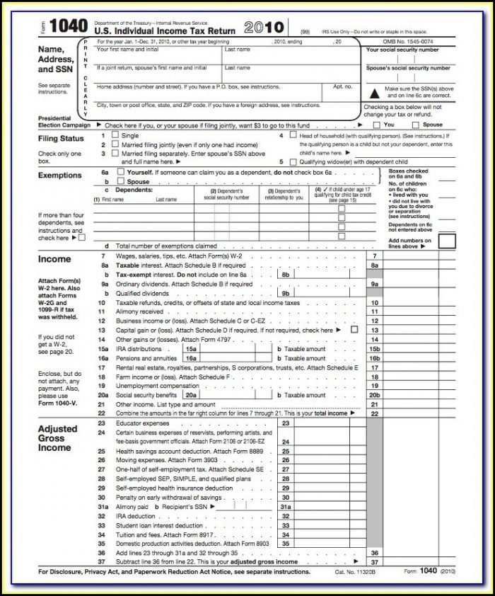 Federal Income Tax Forms 1040ez 2017
