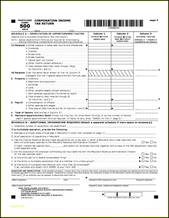 Fillable Form 1040