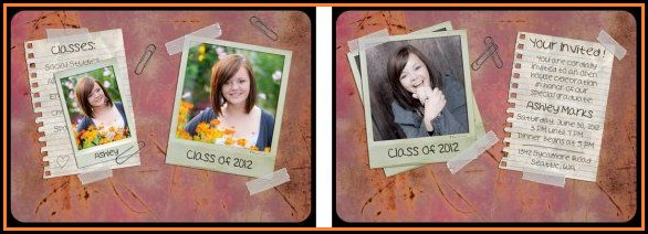 Free Photoshop Senior Portrait Templates