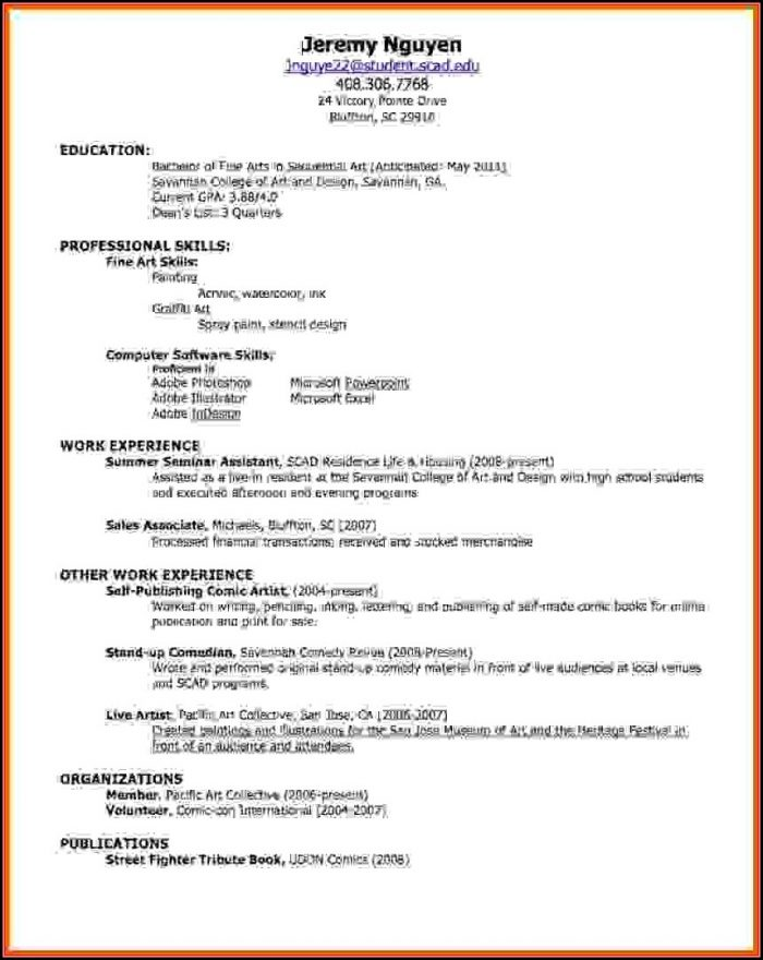 How To Make Resume For Job Online
