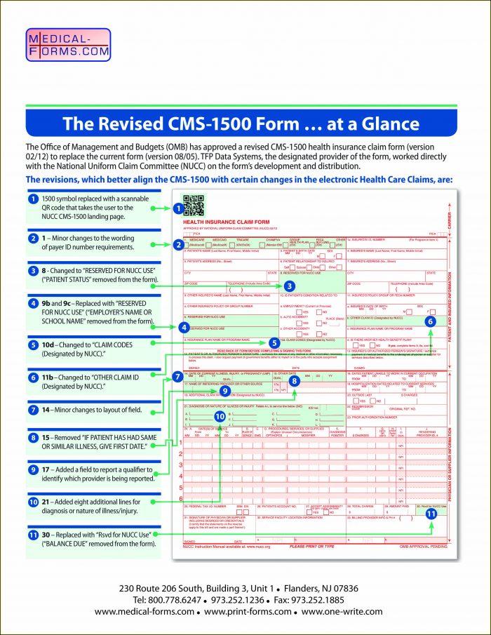Form Cms 1500 Instructions