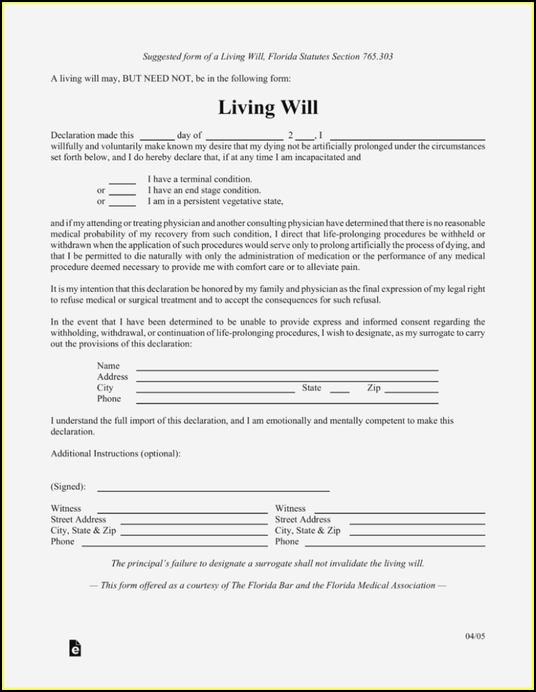 photo regarding Living Will Forms Free Printable identify Absolutely free Printable Residing Will Styles Florida - Sort : Resume