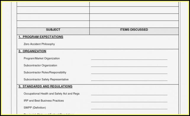 Free Scissor Lift Inspection Form