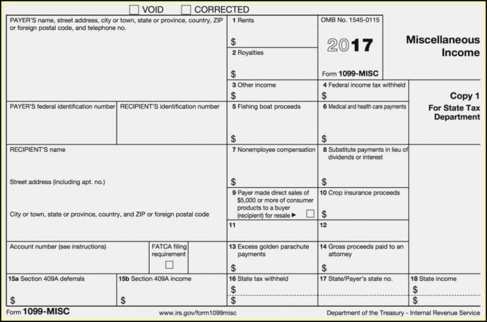 Get 1099 Misc Form Online