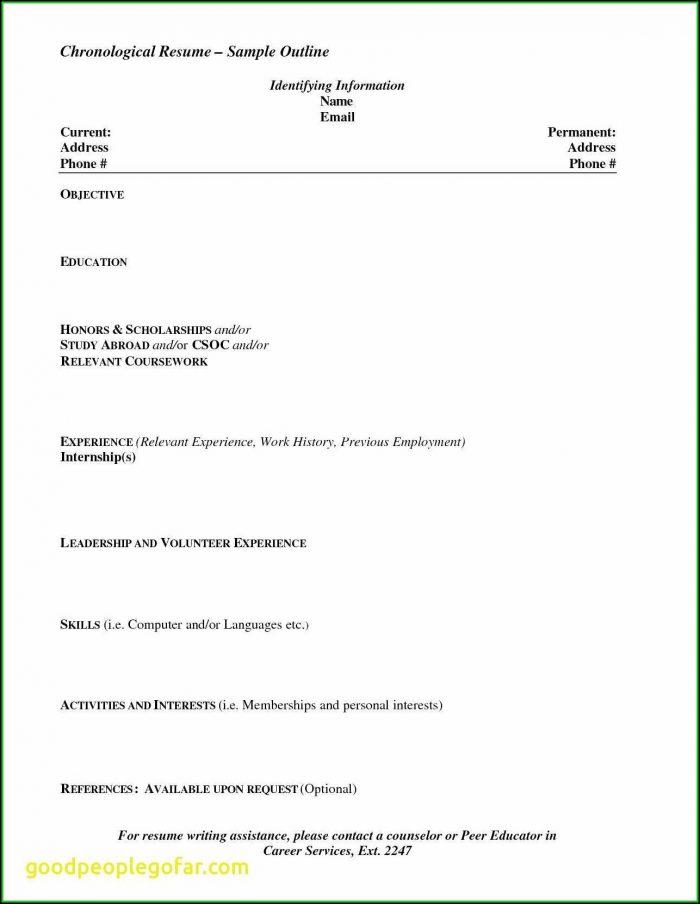 Online Resume Builder Free Printable