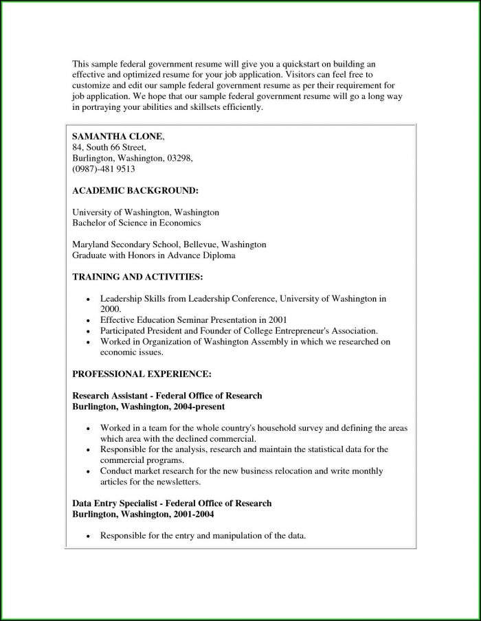 alberta government resume writing