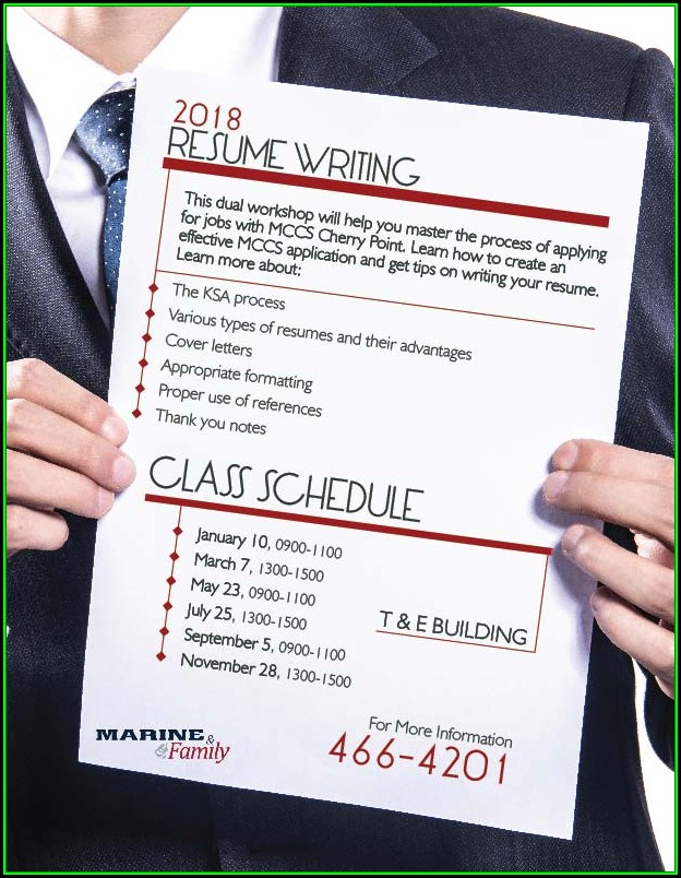 Resume Building Classes