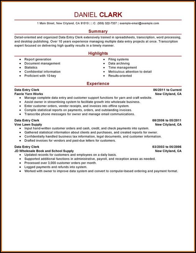 Hotel Maintenance Job Description Resume