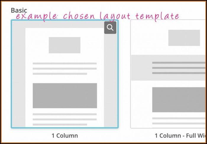 Newsletter Layout Mailchimp