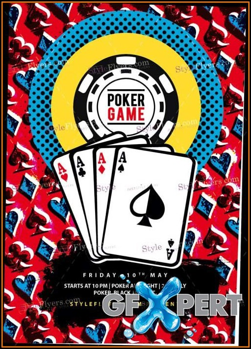 Poker Chip Psd Template