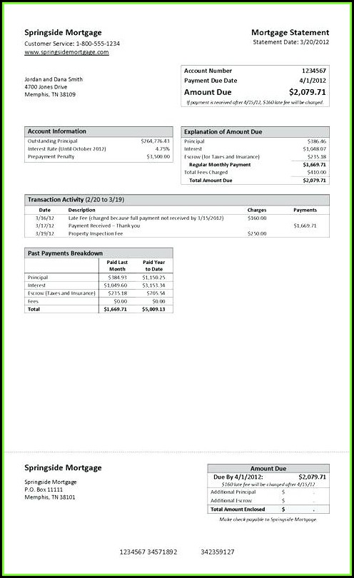 Create Chase Bank Statement Template