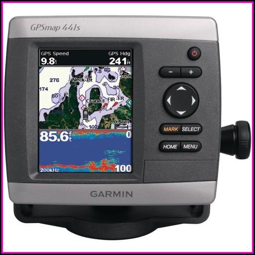 Garmin Gpsmap 441s Gps Chartplotter Sounder